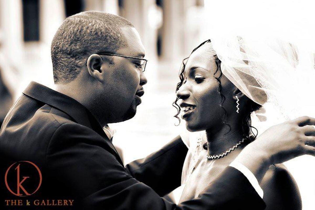 Novlene with husband, Jameel Mills.