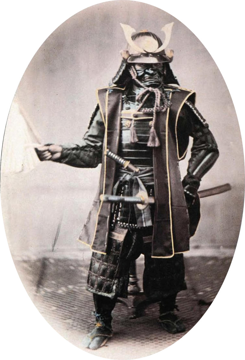Samurai were both a military and political class, and were crushed by the Meiji restoration.