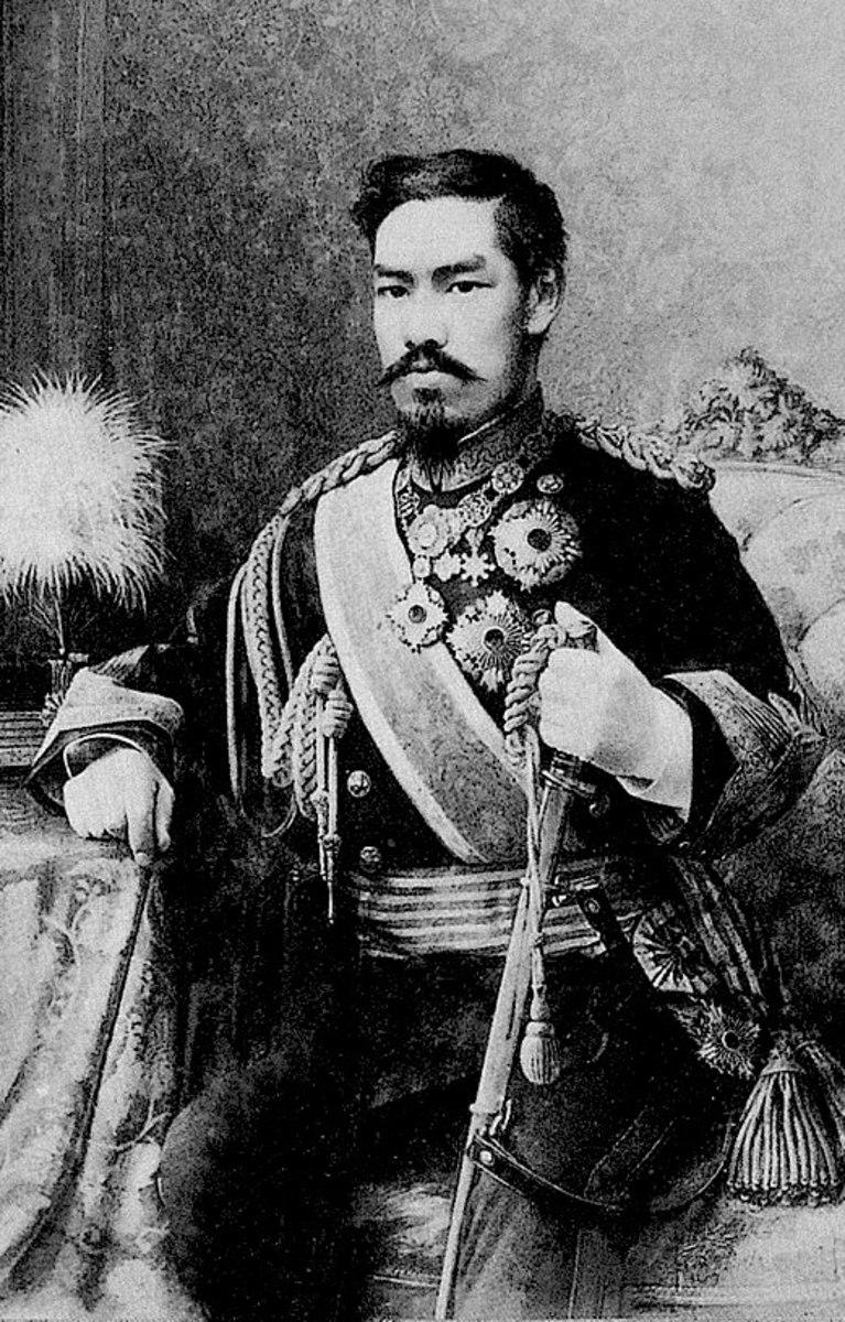 The Emperor Meiji.