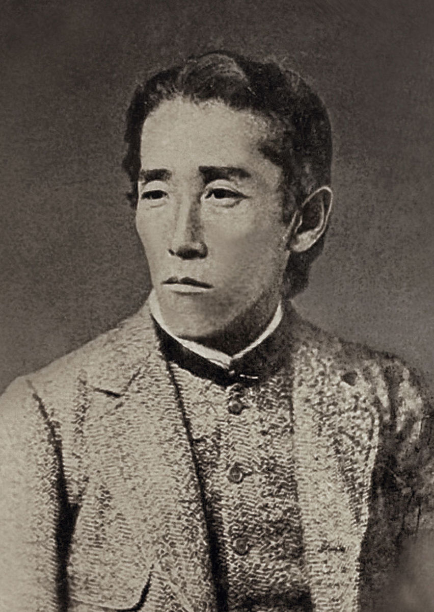 Itagaki Taisuke around 1880 : he had a quite magnificent beard later on.