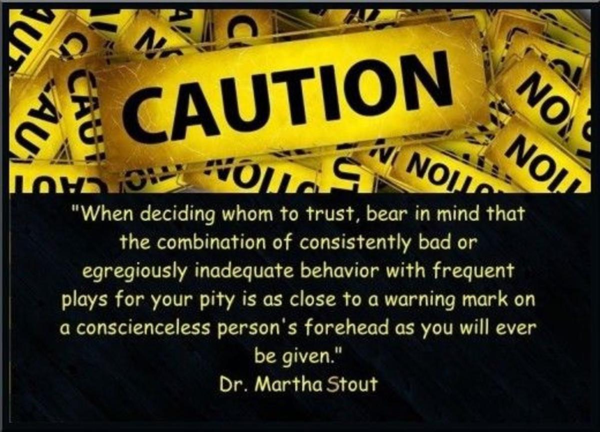 Dr. Martha Stout Quote