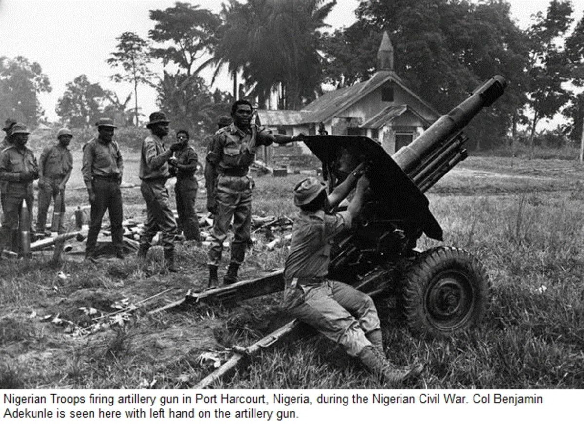 The biggest conflict in the region, the Biafra War in the late 1960s, saw the French back Biafran rebels against a government supported by the British.