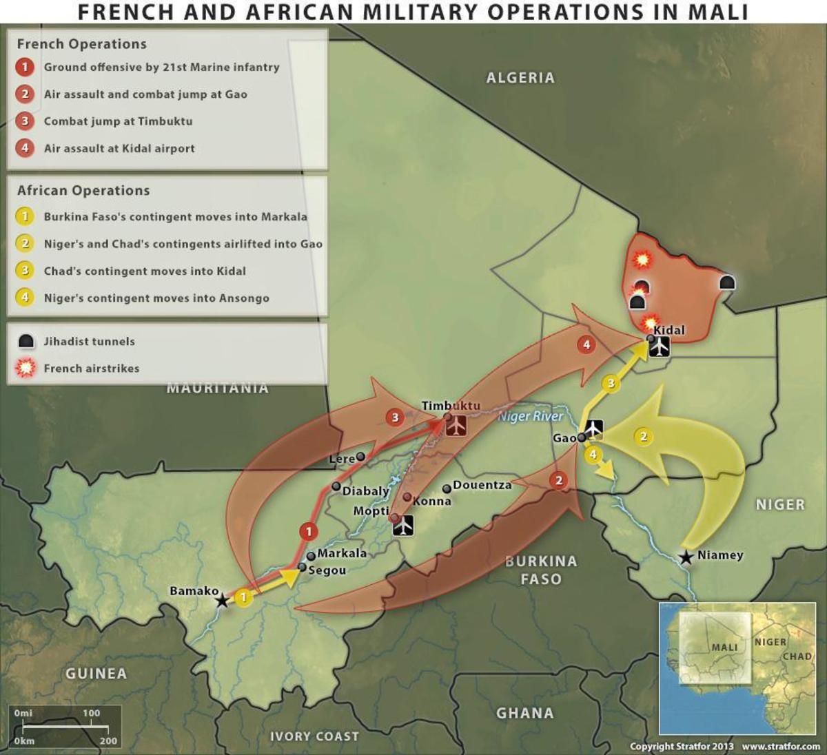Military might such as Operation Serval would dominate realist understanding of West African.