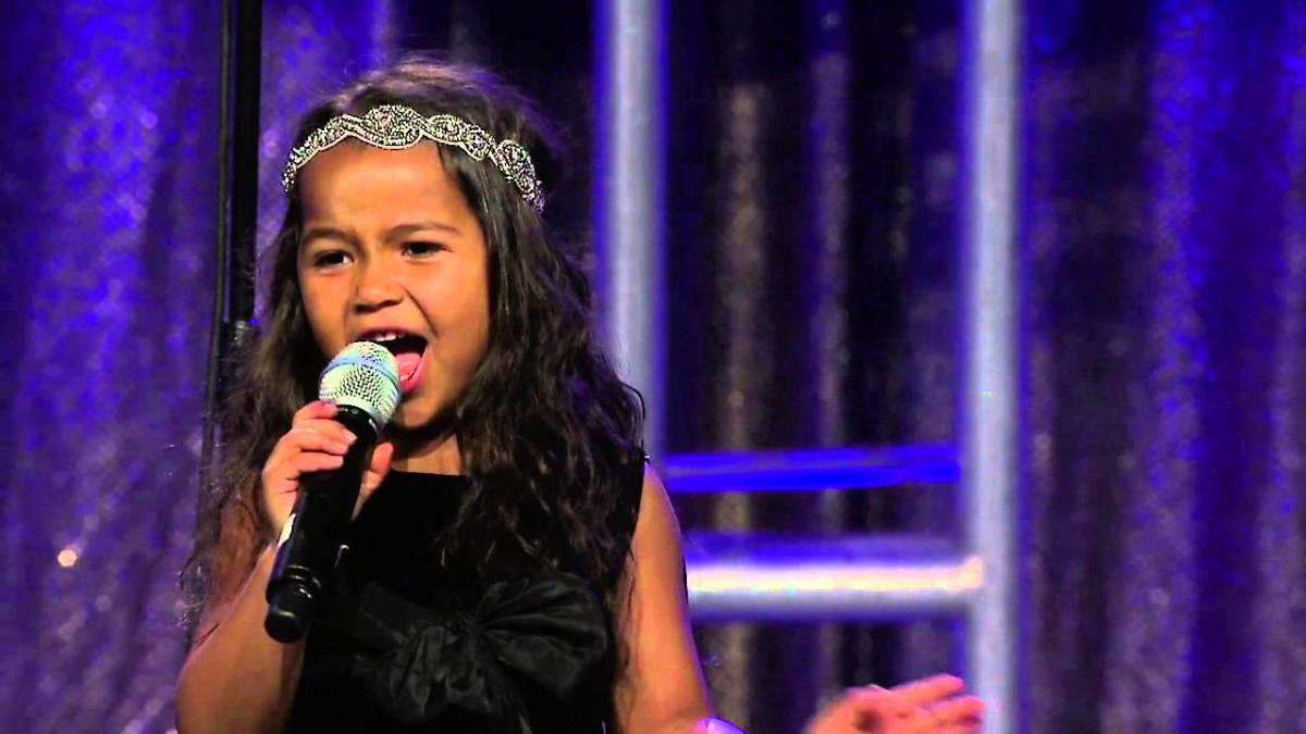 Heavenly Joy (8 year-old singer)