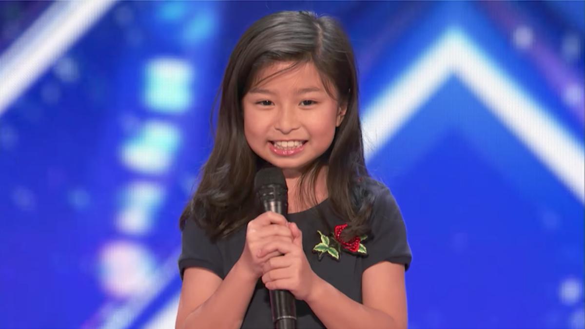 Celine Tam (10 year-old singer)