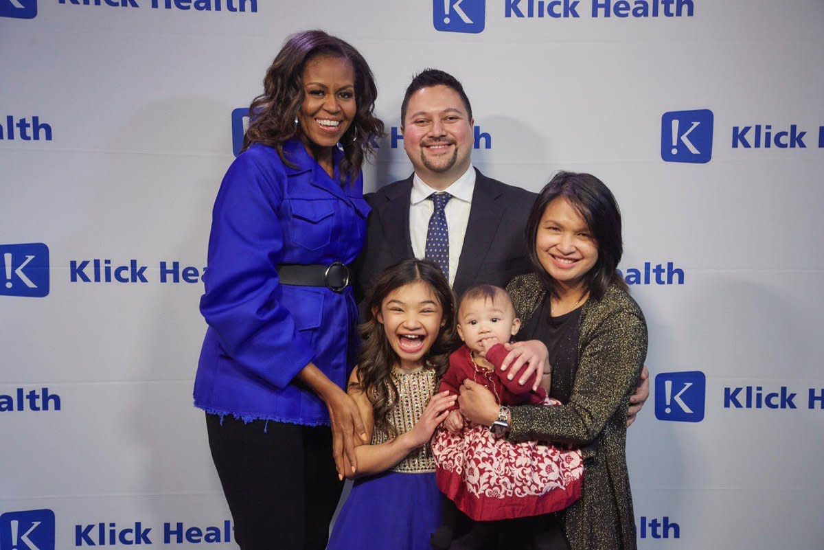The Hales and Former First Lady, Michelle Obama