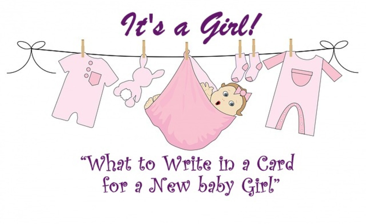 What to Write in a Card for New Baby Girl