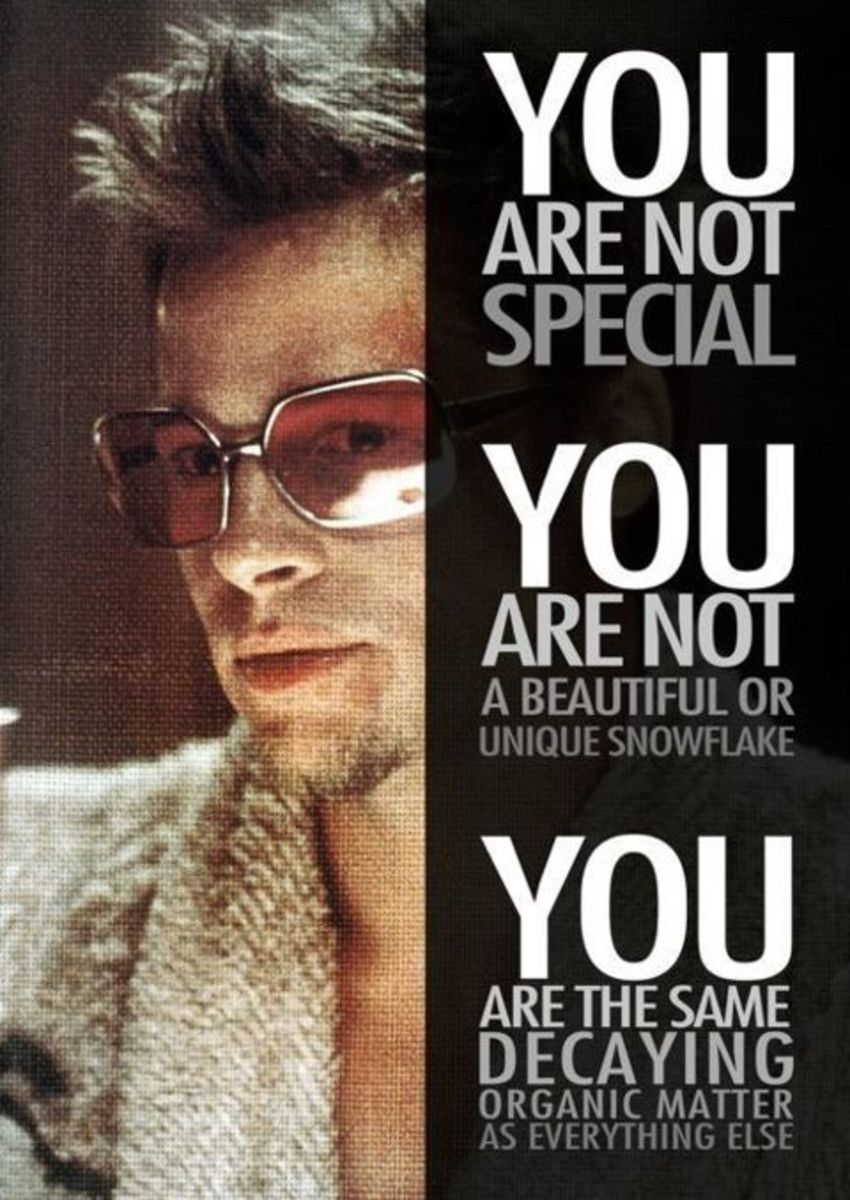 Courtesy of Fox Pictures.  This famous, 1999 quote from the Generation X staple, Fight Club, was initially an criticism leveled at Generation X.