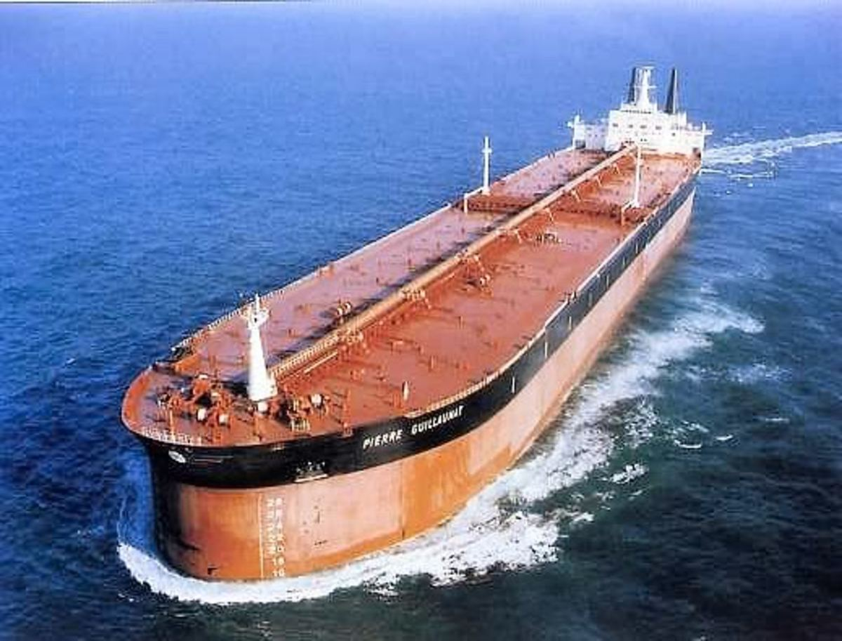 Fastest Super Oil Tankers in the World