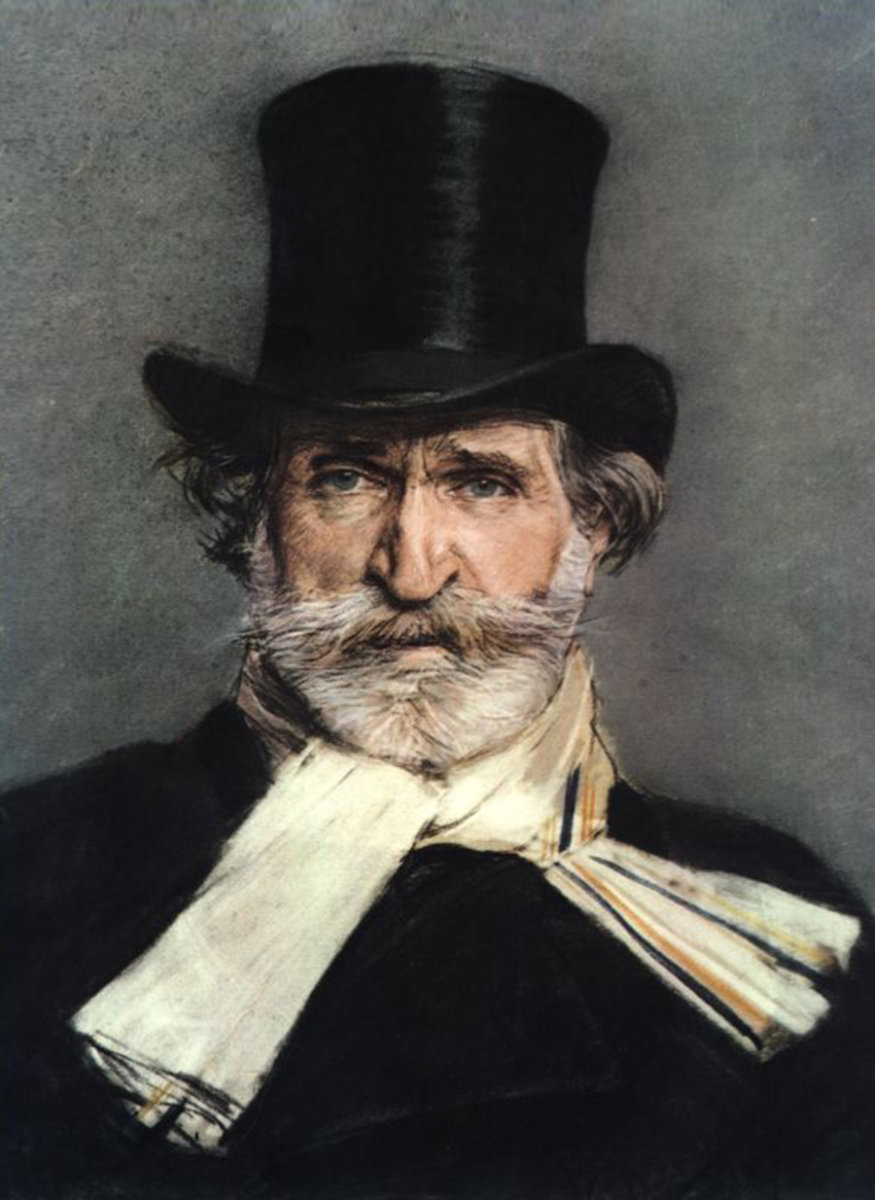 Portrait of Verdi