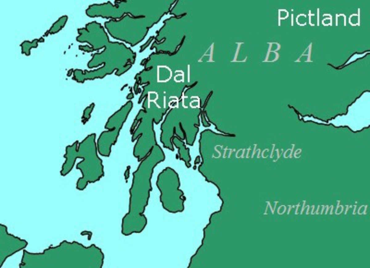 The early peoples of Scotland and their distribution