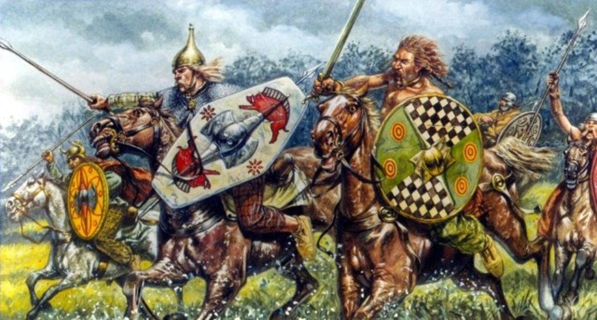 Pictish cavalry would have once been useful to the Romans, whose own cavalry were not as highly trained as their foot soldiers