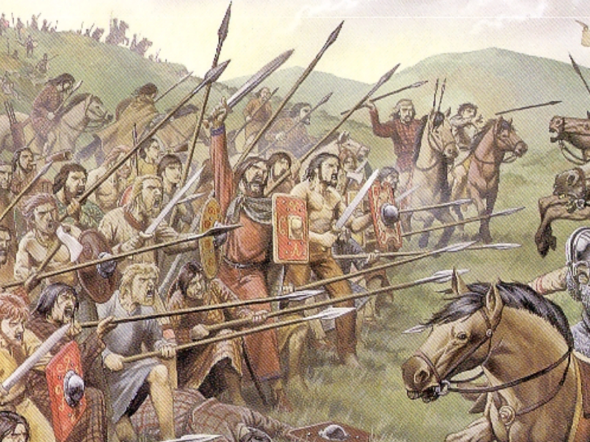 Fortriu confrontation in the early years when the Picts carved out their kingdom