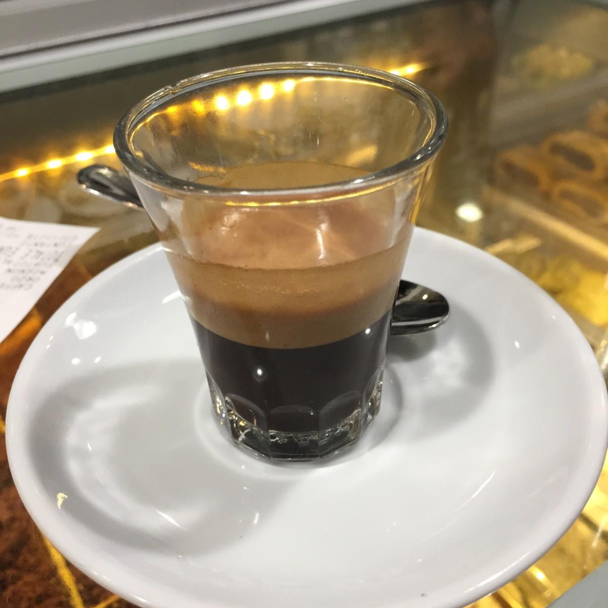 Caffe Lungo al Vetro