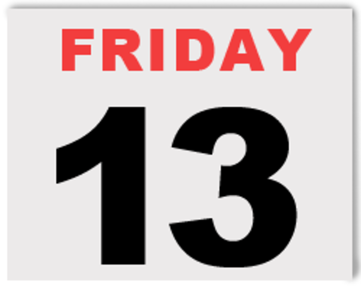 Friday the 13th is just like any other day on the calendar.