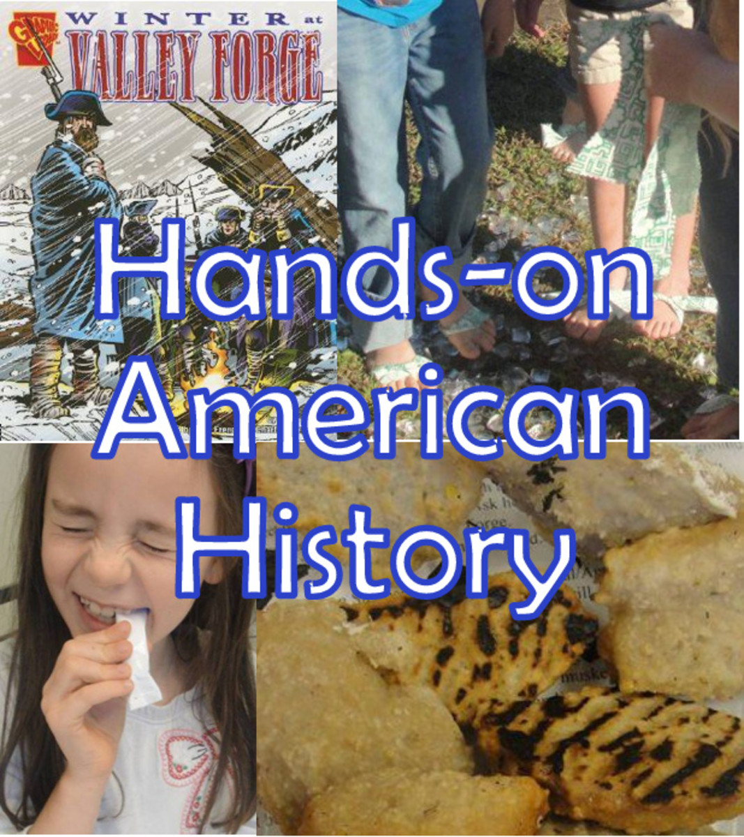Hands-on American History: Valley Forge & Battle of Yorktown Lesson