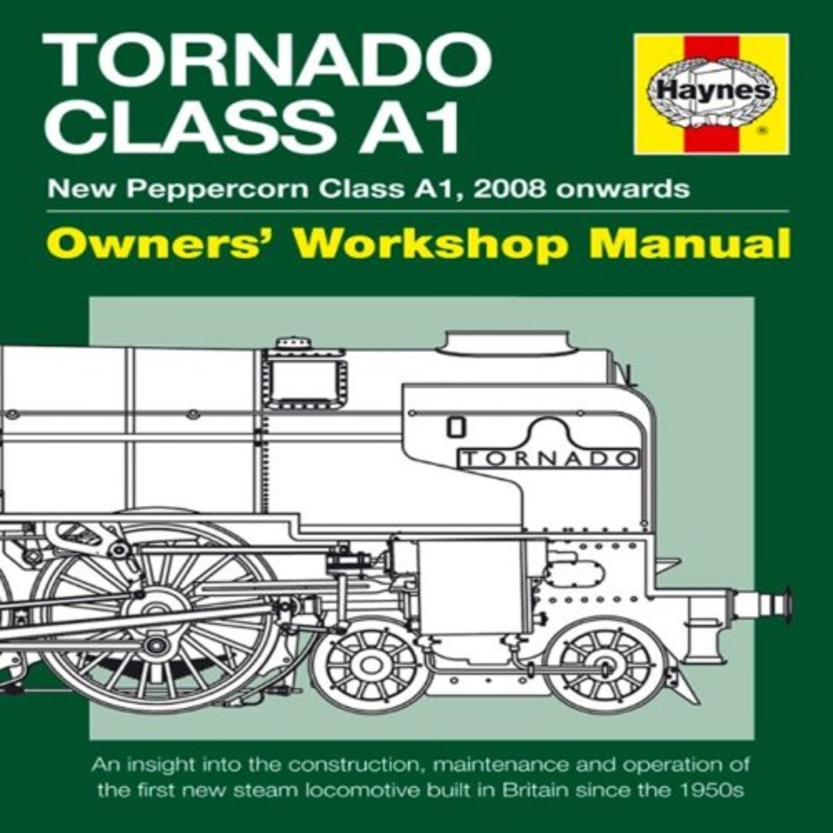 It's said that there's a Haynes Manual for everything on wheels... Here's a 'tongue-in-cheek' edition for 'Tornado', published by Hsynes soon after completion
