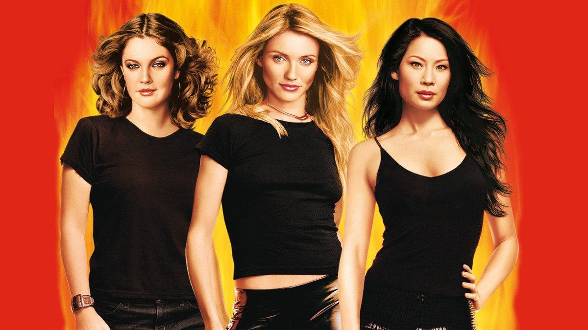 Drew Barrymore, Cameron Diaz, and Lucy Liu.