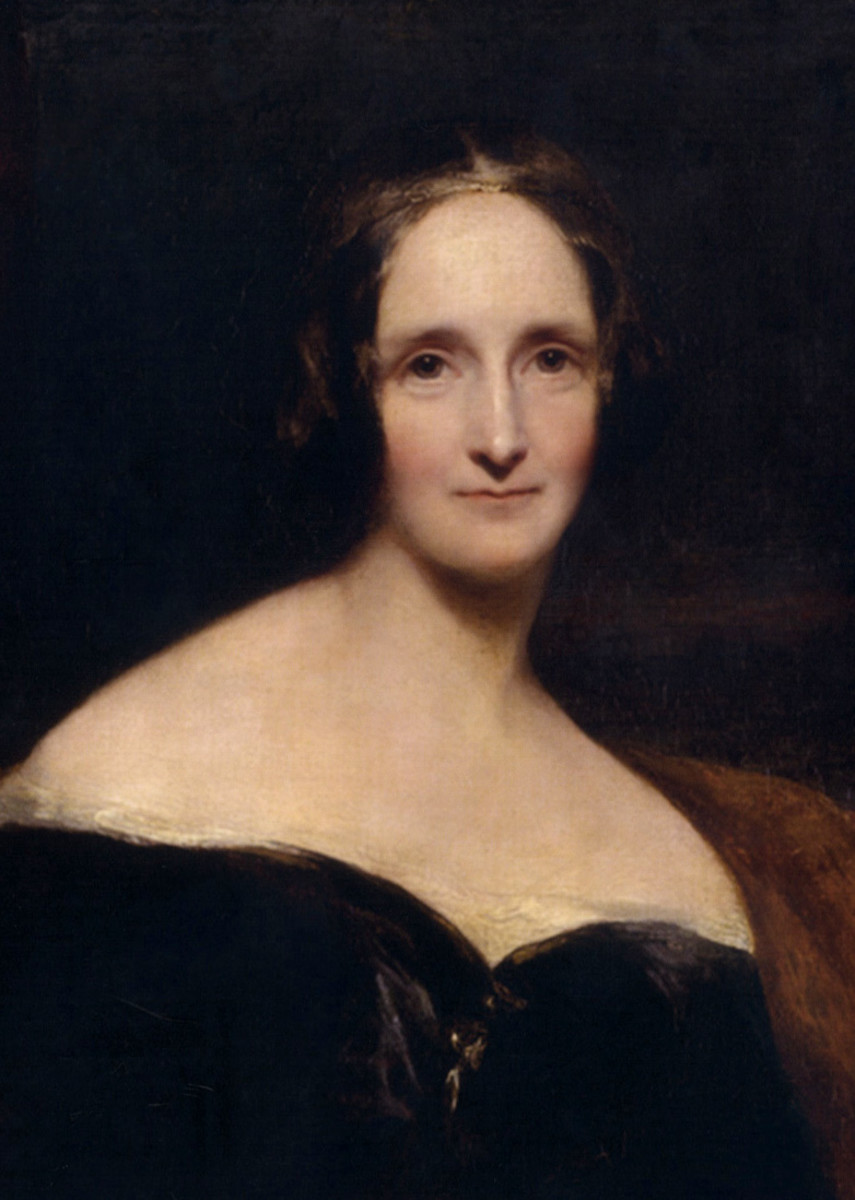 Portrait of Mary Shelley, 1840