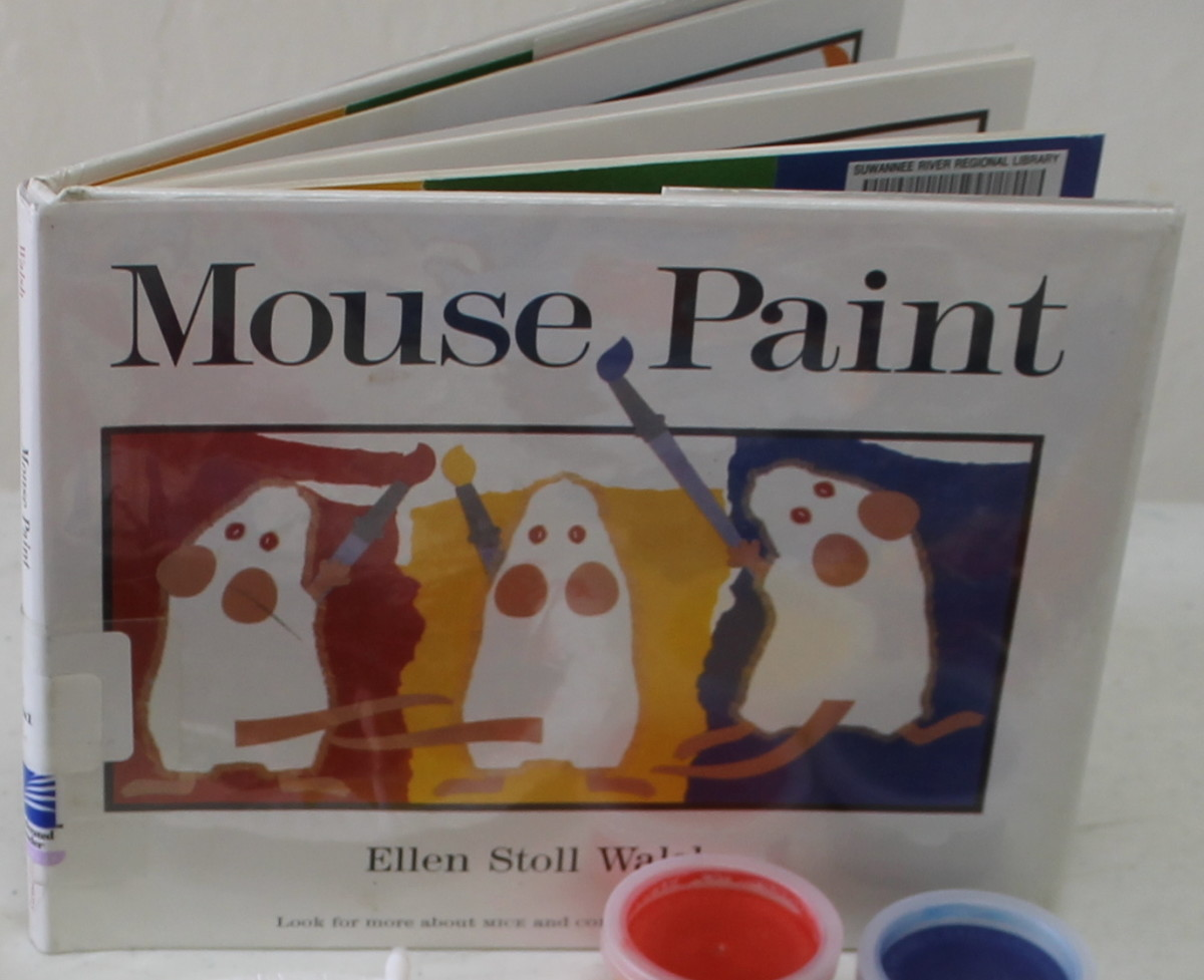 """""""Mouse Paint"""" by Ellen Stoll Walsh"""