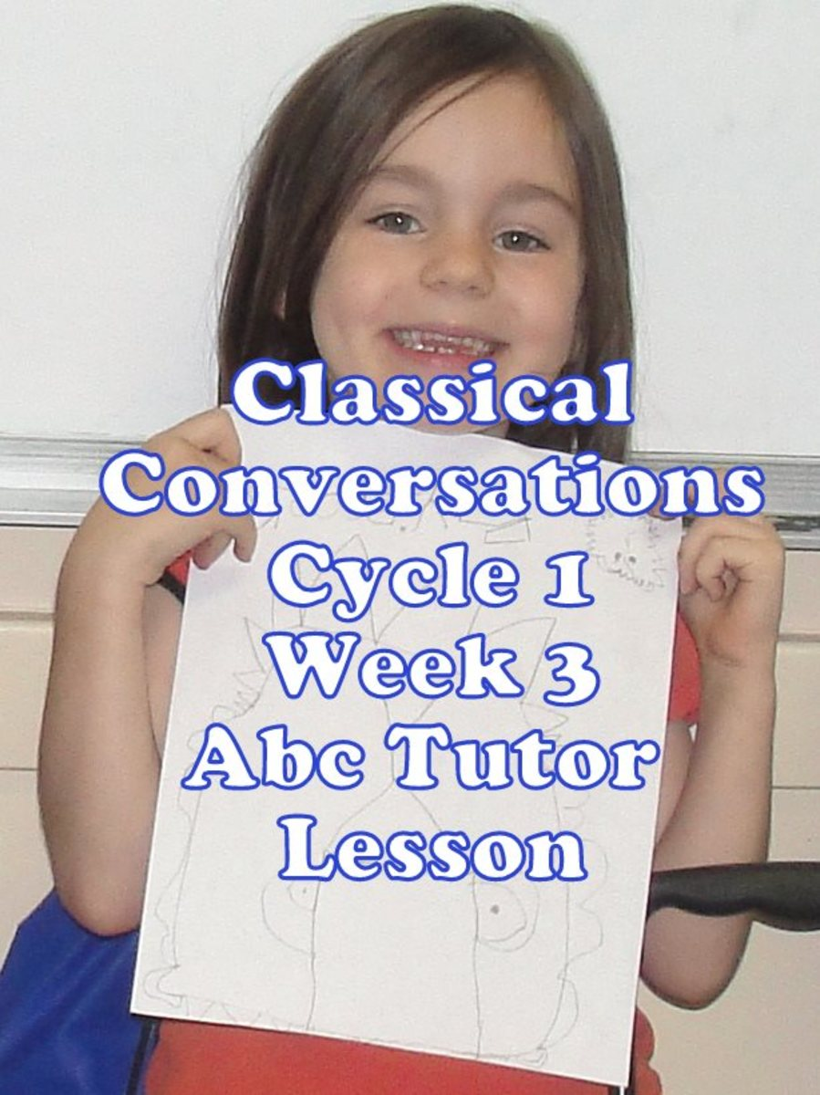 Classical Conversations Cycle 1 Week 3 Abc Tutor Plan - Sketching a lion upside down during the art lesson
