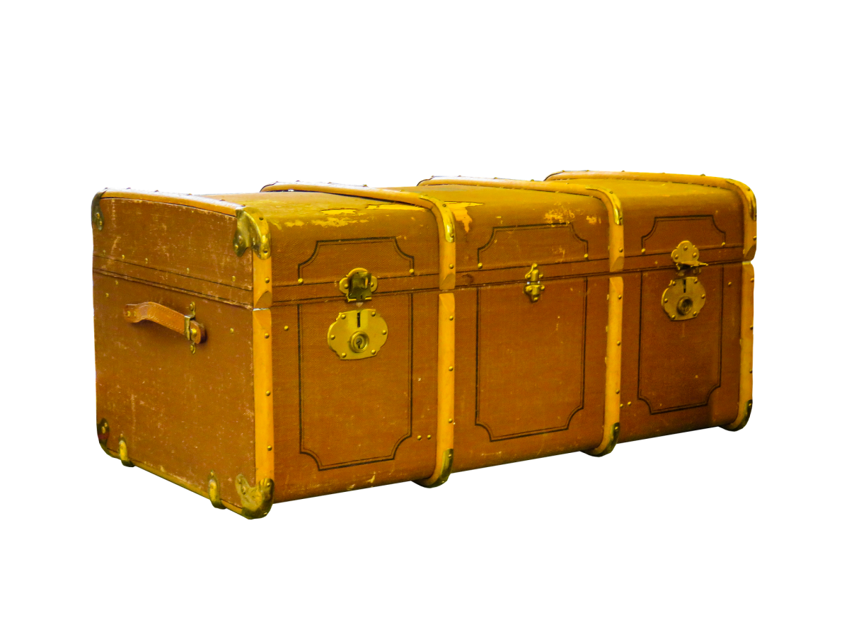The Old Battered Chest, a Poem About Memories