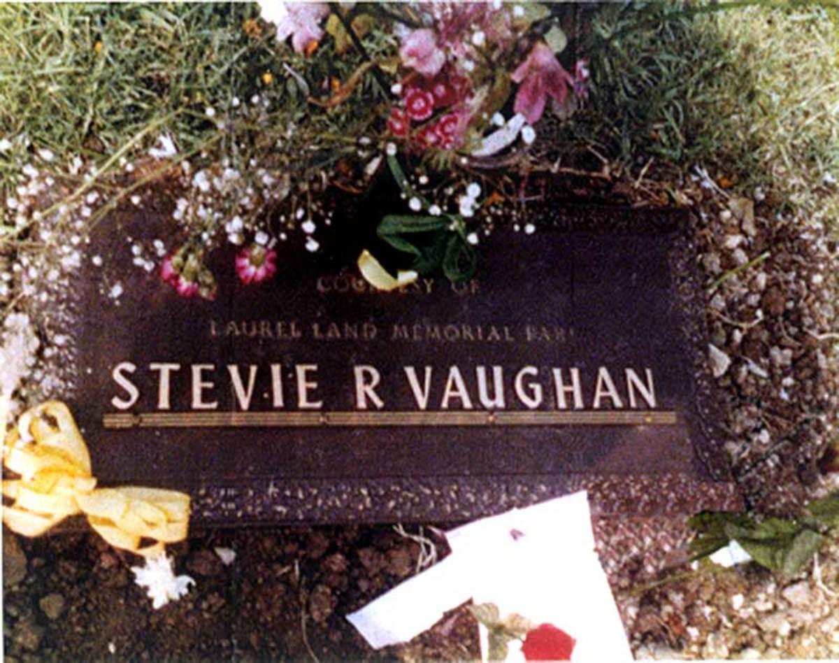 Stevie Ray Vaughan Burial Marker