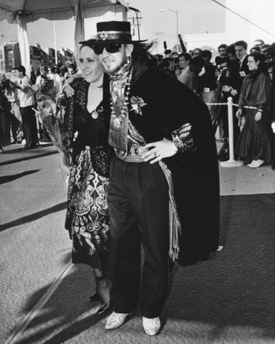 Stevie Ray Vaughan at Grammy Awards