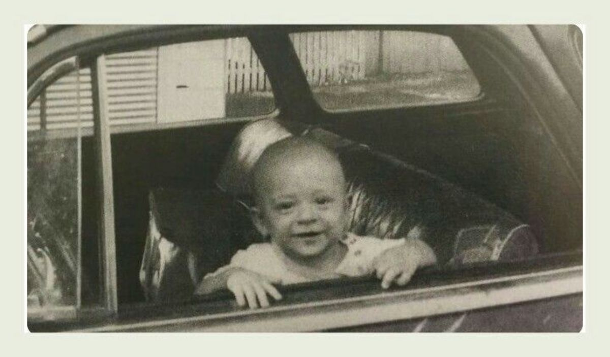 Picture of Stevie Ray Vaughan when he was a child