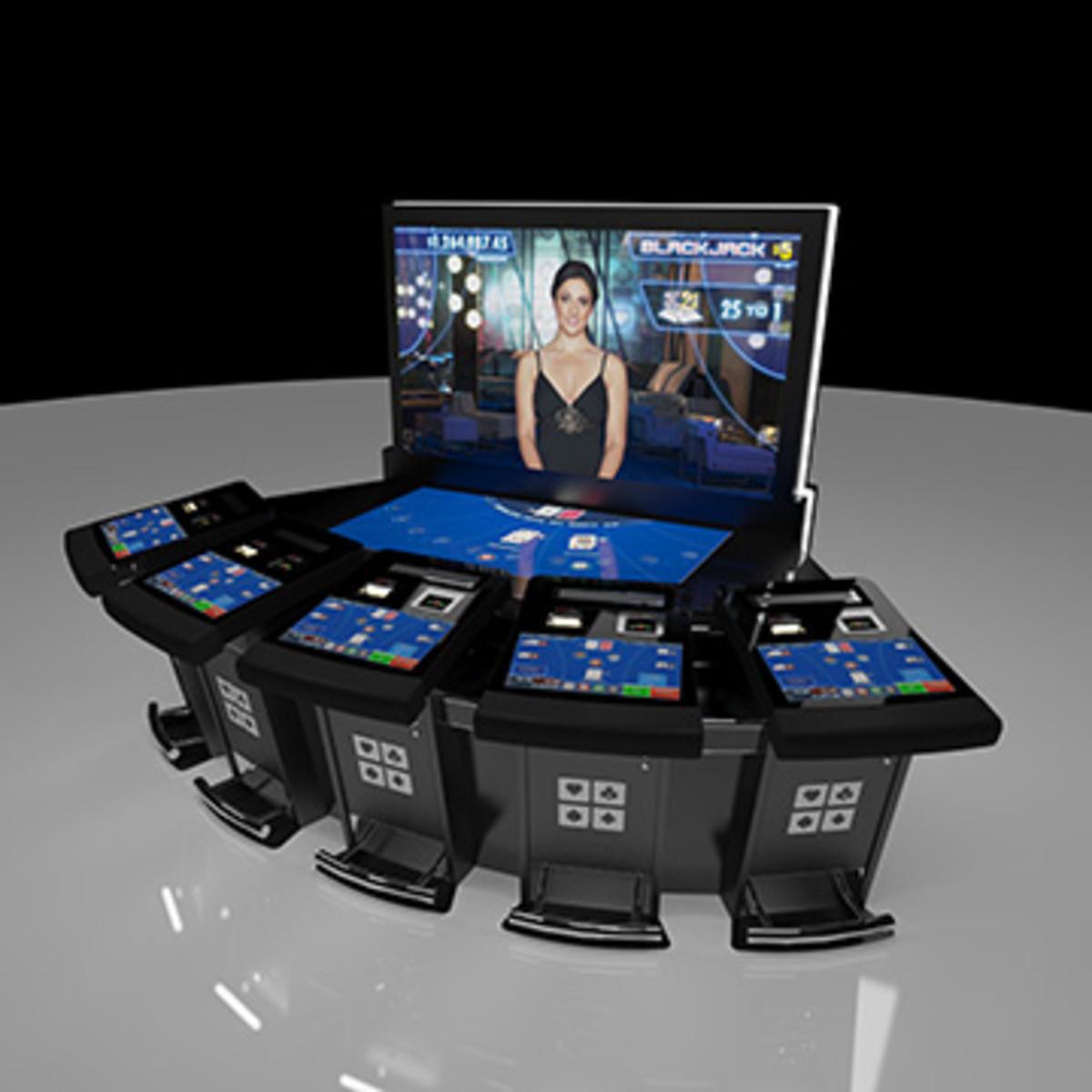 Multi Player Blackjack, Kewadin Casino, Sault Sainte Marie, MI