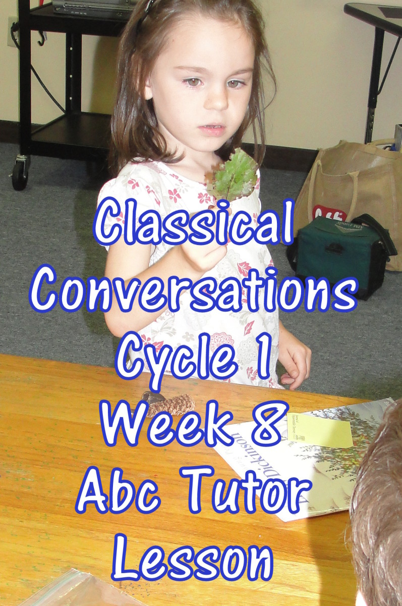 Classical Conversations Cycle 1 Week 8 Abc Tutor Plan - Science Activity: Plants Around You
