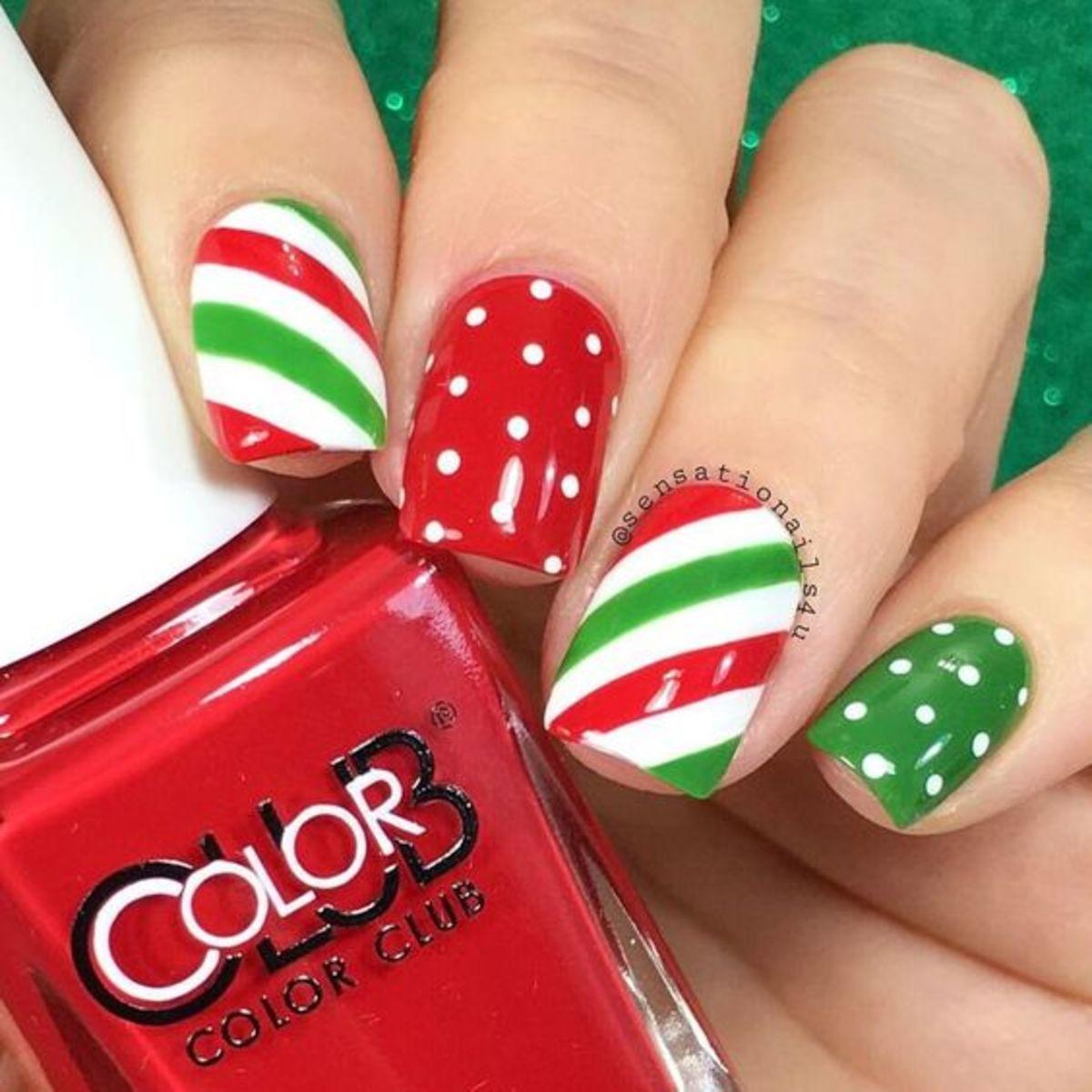 diy-christmas-nail-designs