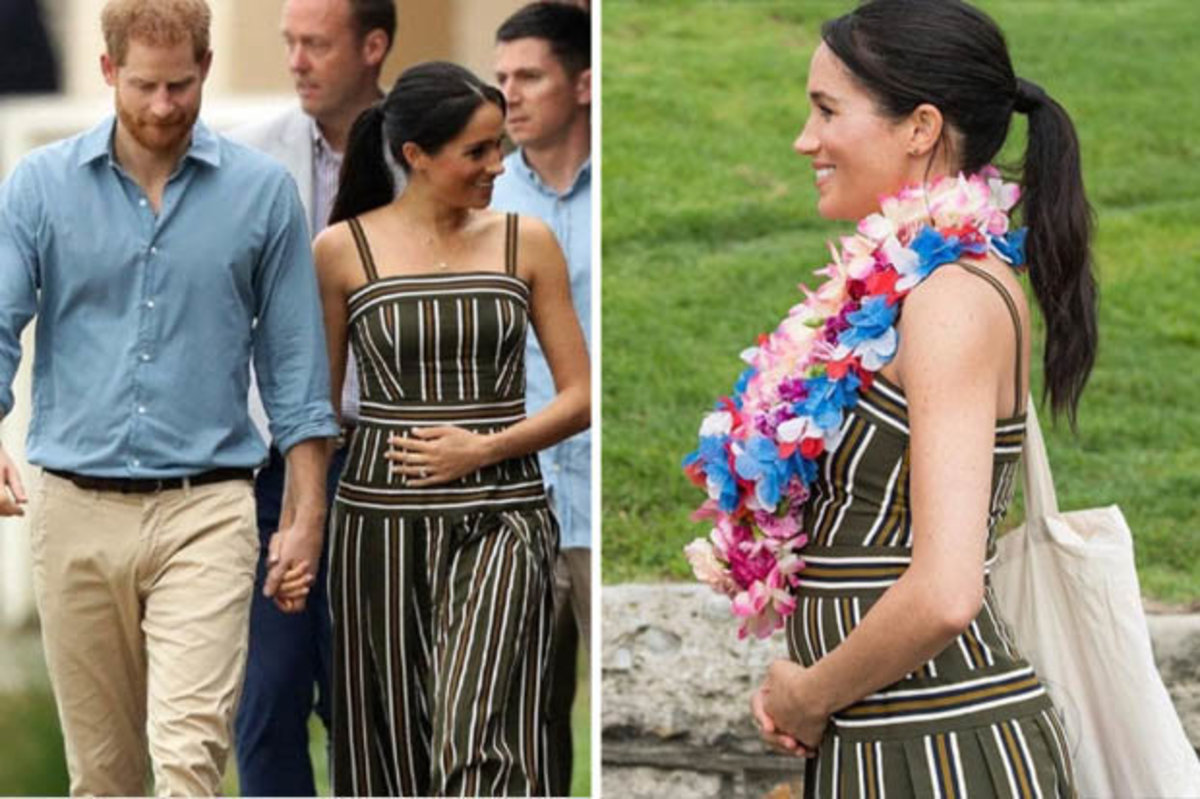 Meghan Markle Cradles Baby Bump Often: Expert Explains Why