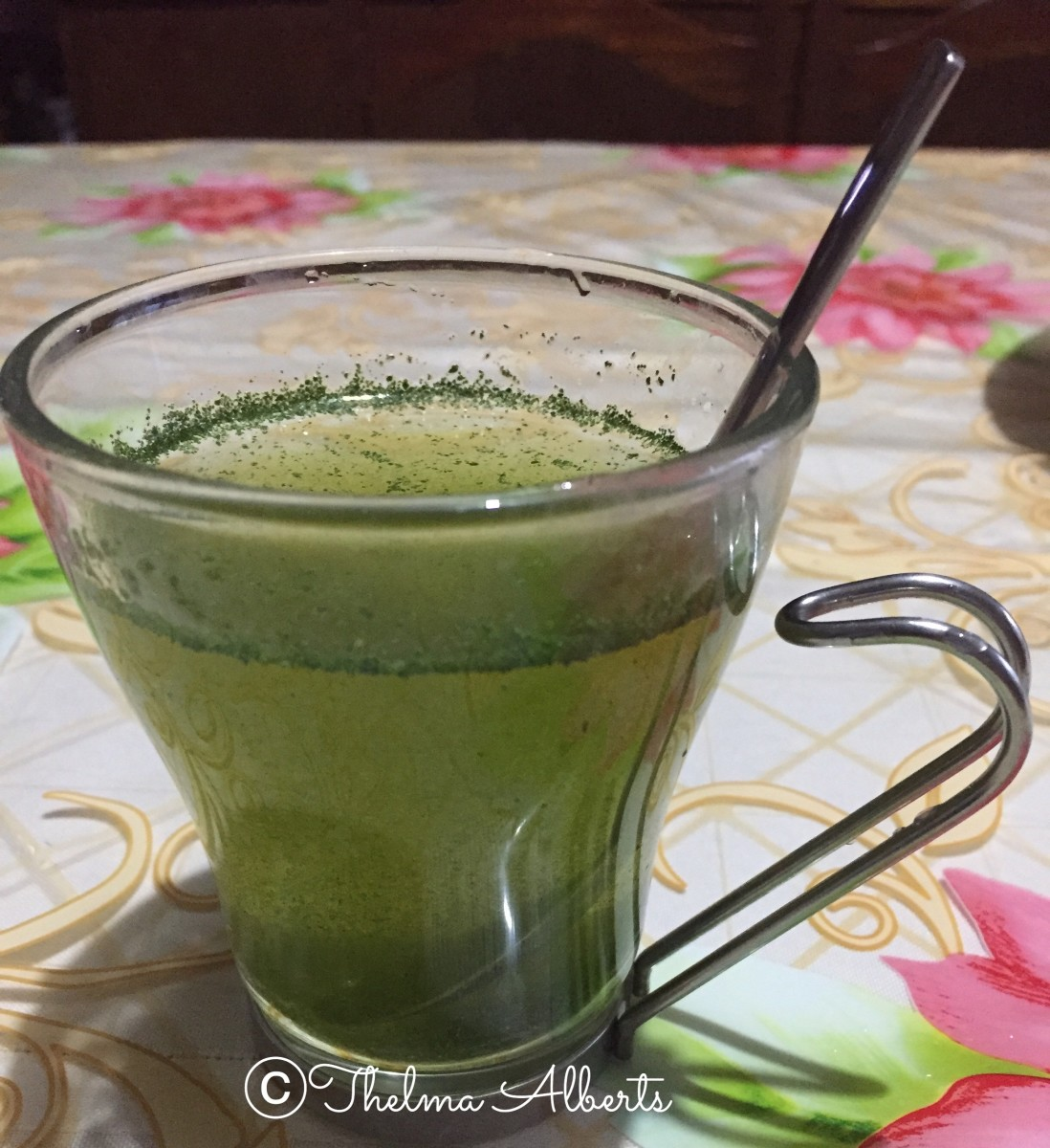 Unsieved Moringa/Miracle tree tea.