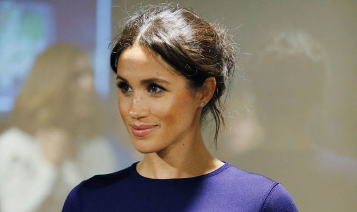 Why Meghan Markle Wears a Lot of Blue Outfits