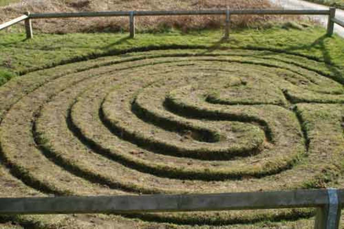 The City of Troy labyrinth