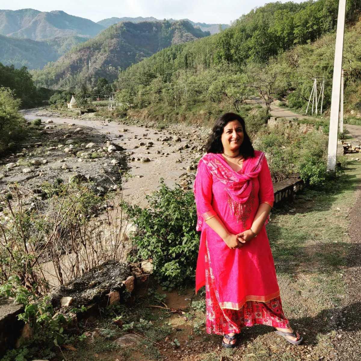 The village near Dehradun where we stayed