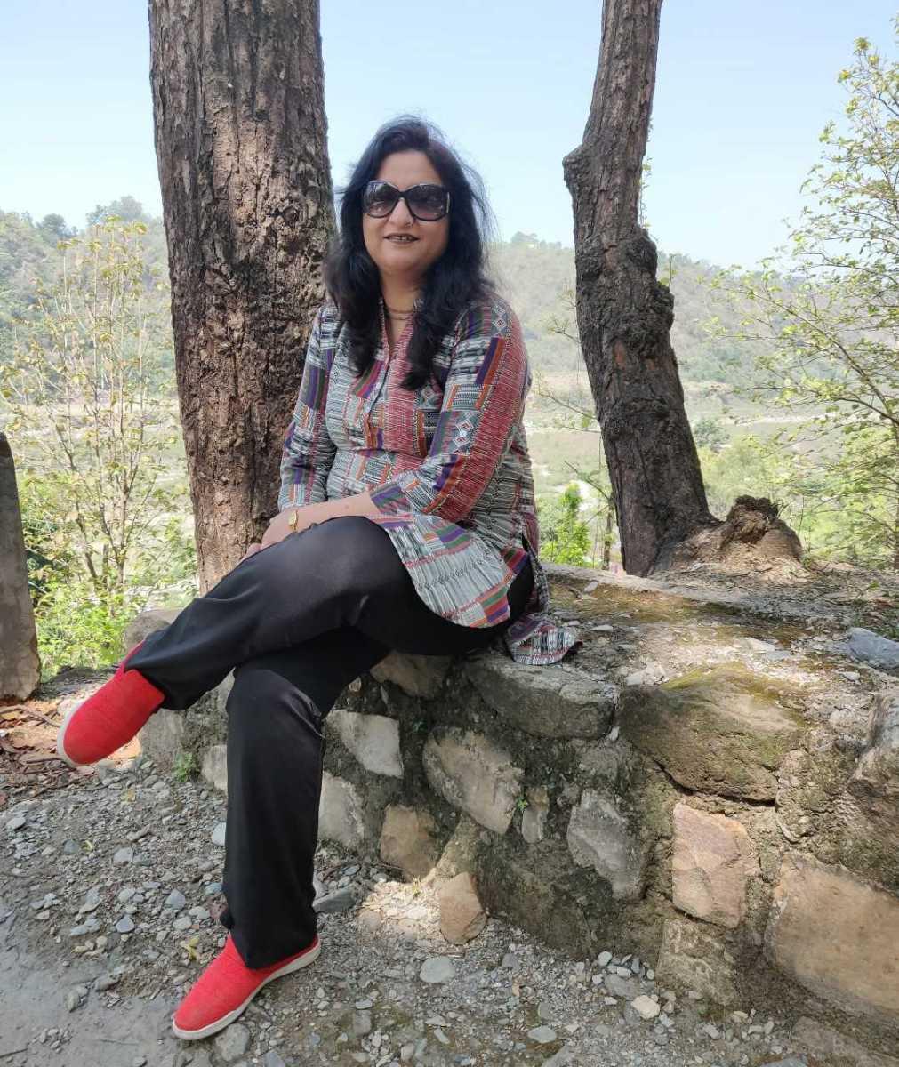On the trek to Santala Devi