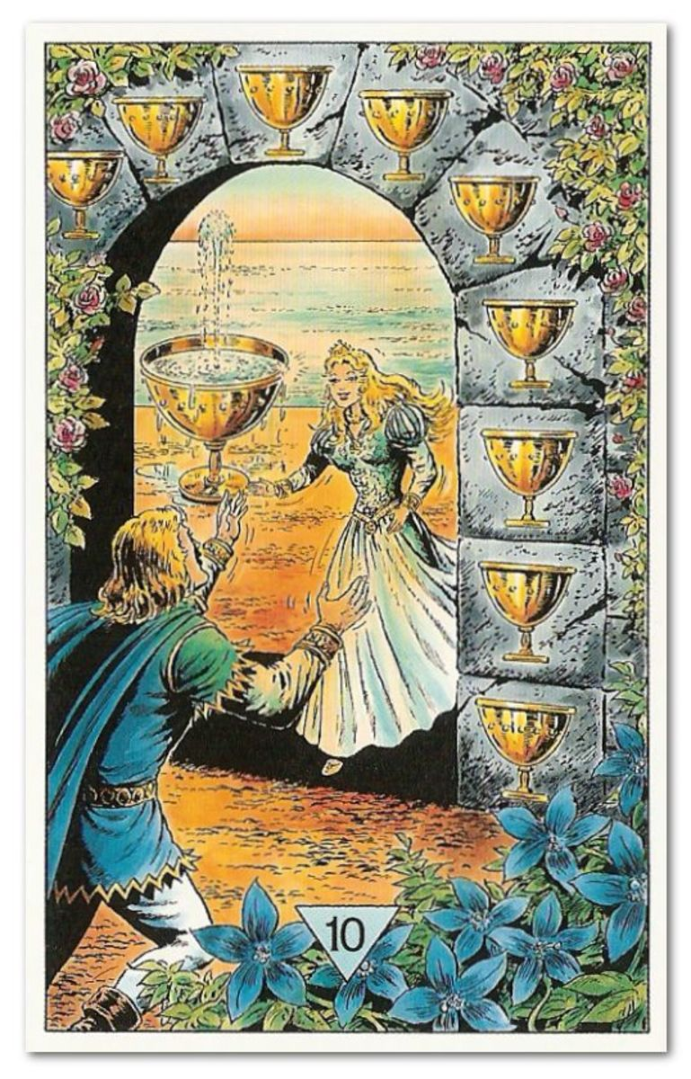 Tarot Cards Reading: Cup Suit  | HubPages