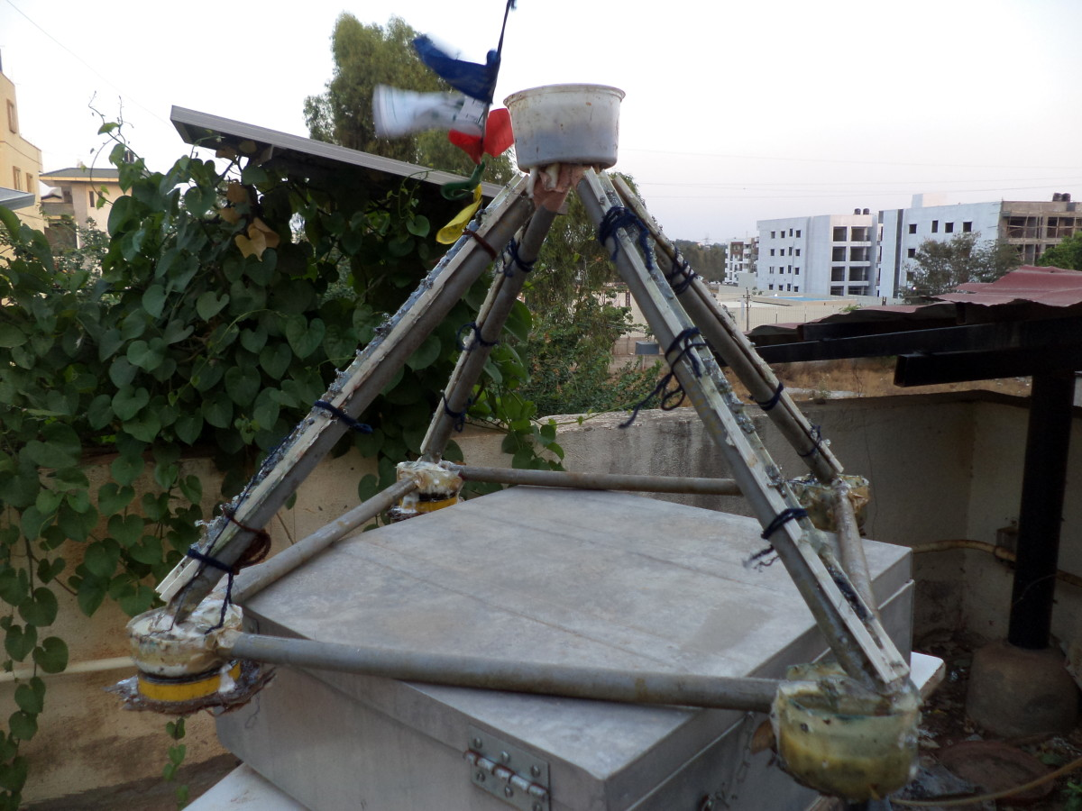 DIY Purviance Pyramid with PVC Pipe