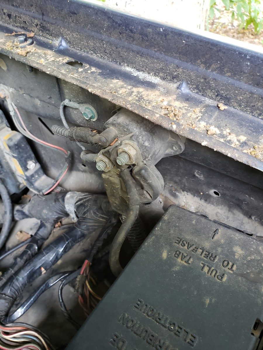 1994 Ford Ranger Solenoid