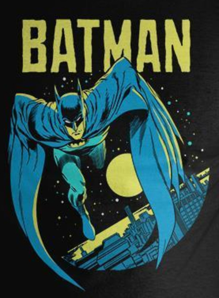 1980's Batman Cape