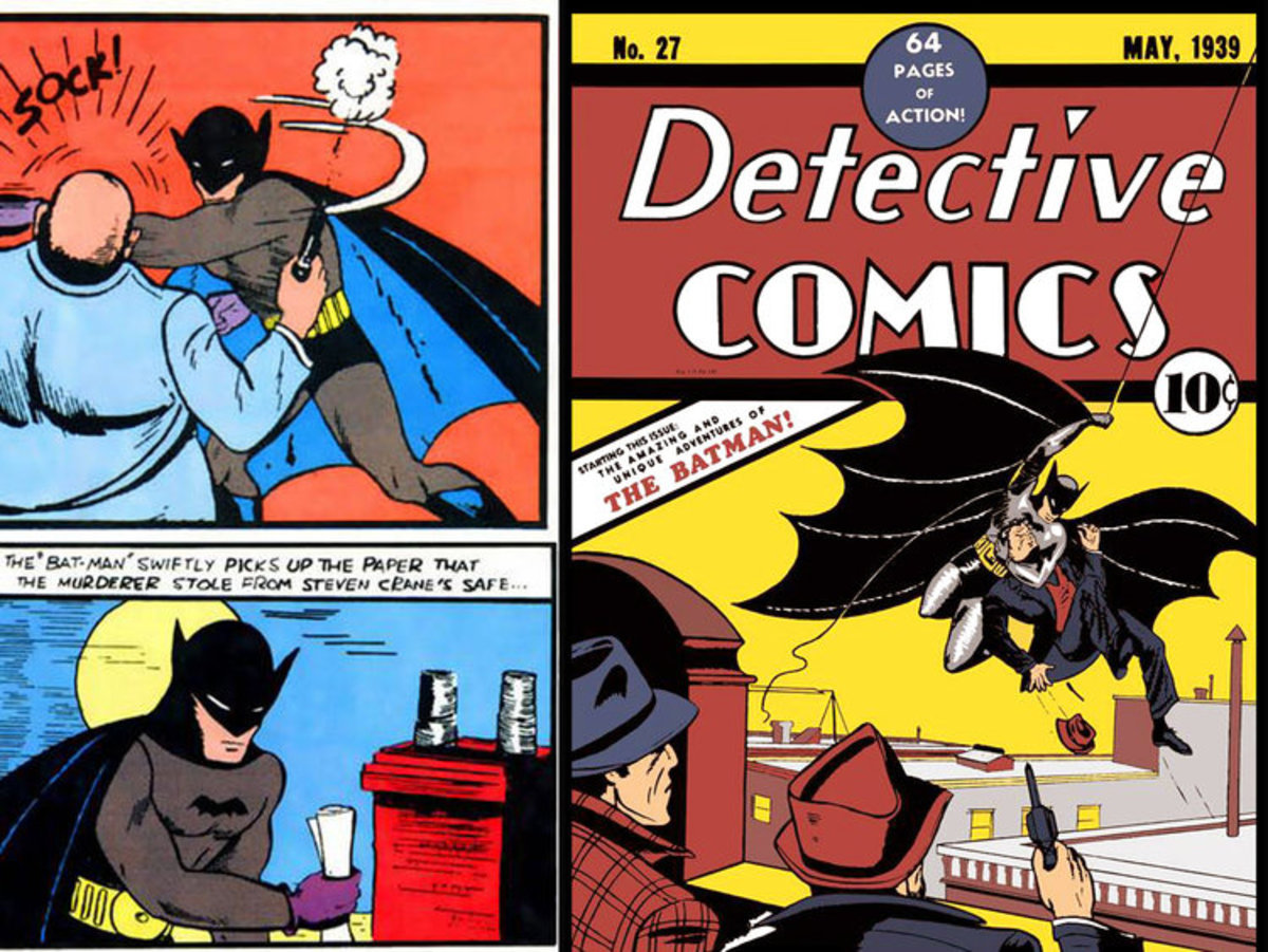 1939 First Batman Comic