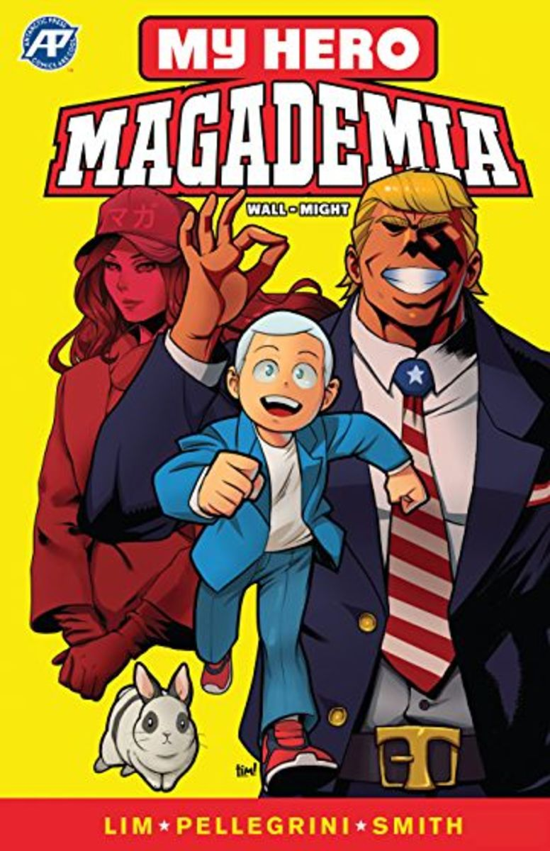 I don't know how, but I'm pretty sure that this is violating Kohei Horikoshi's copyright somehow. Also if I was All Might and I saw this, I'd be pissed.