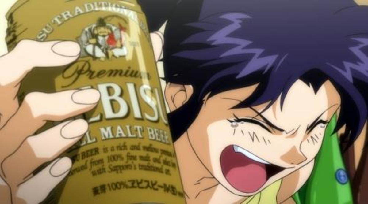 Another drunk Misato,
