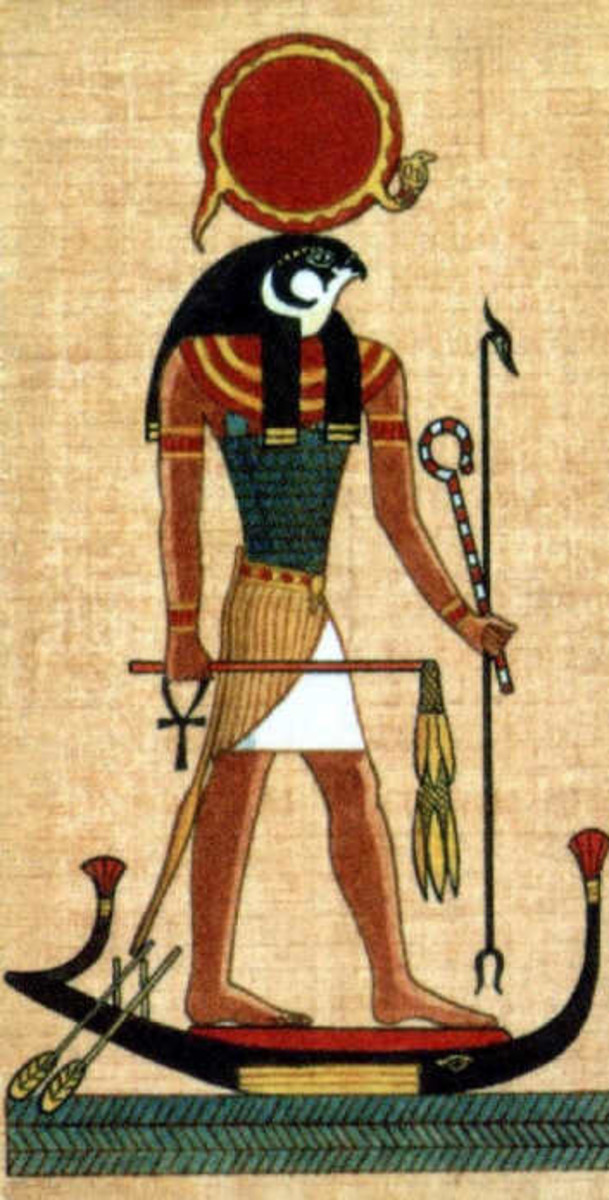 The Sun God Ra on His Boat of a Million Years