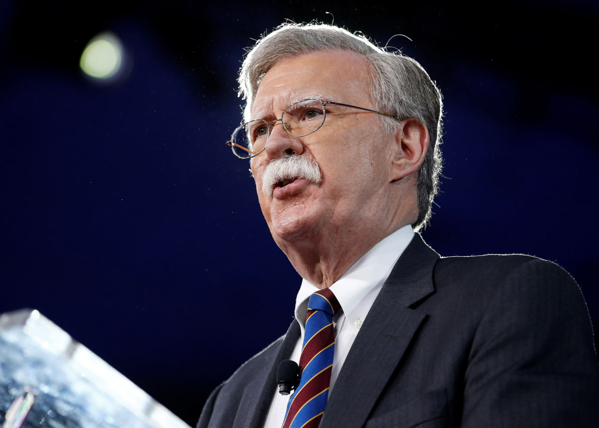Who is John Bolton?
