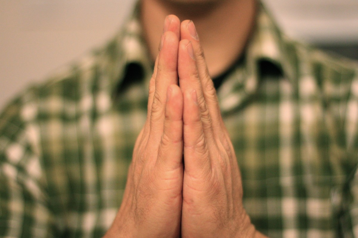 The Physical Gesture For Namaste