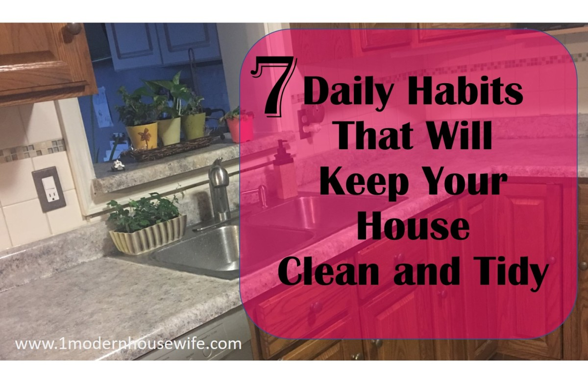 7 Daily Habits That Will Keep Your House Clean and Tidy