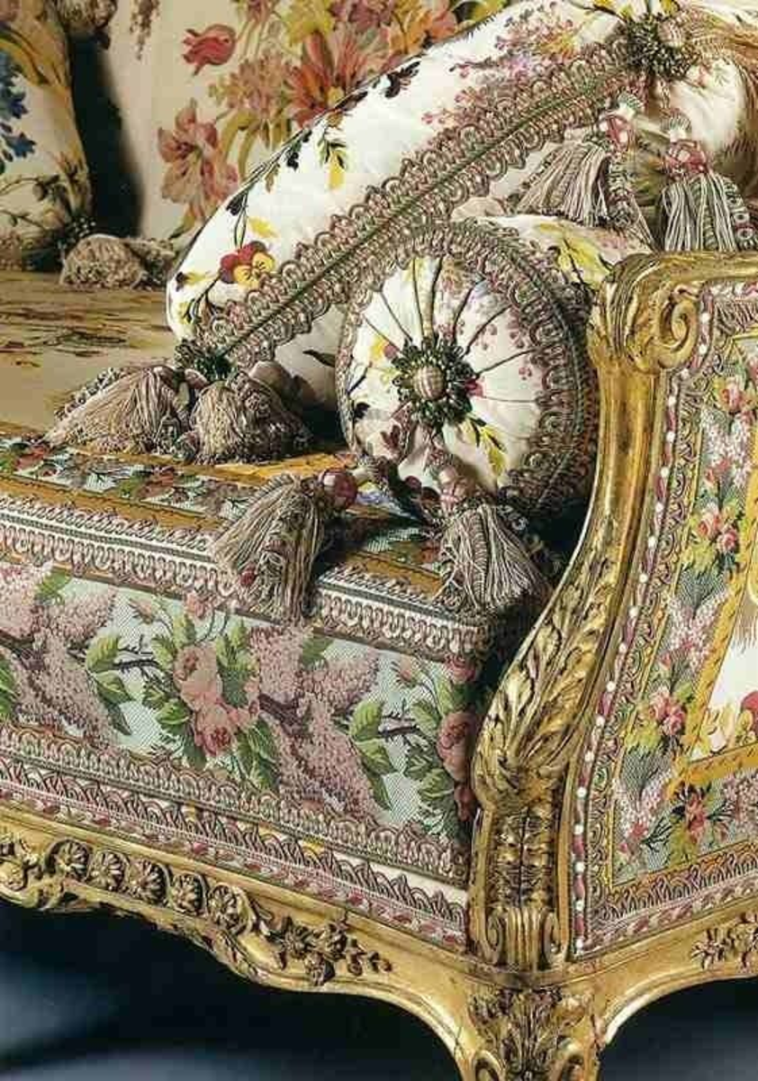 Detail of couch